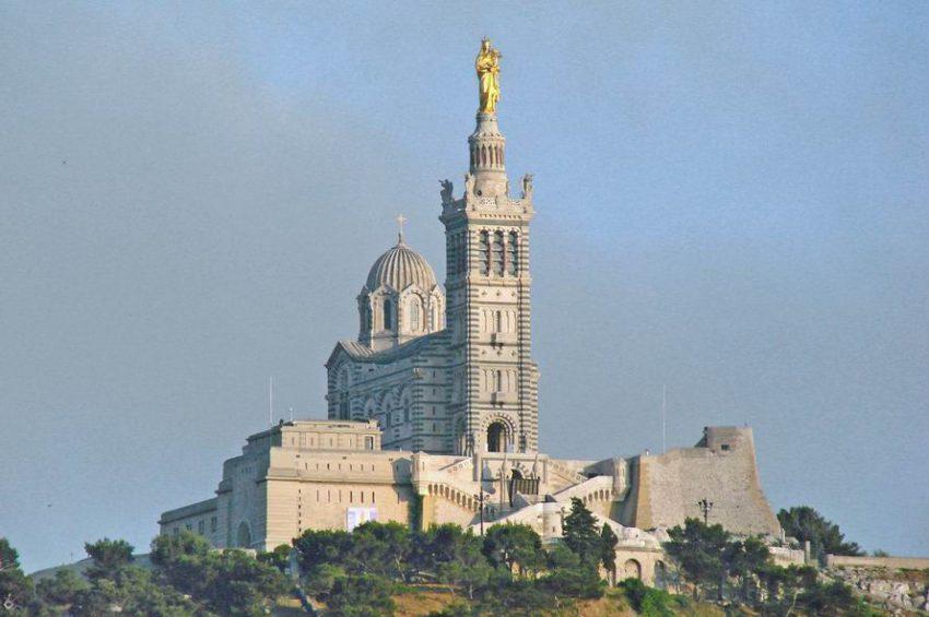Marseille Basilica Notre Dame de la Garde
