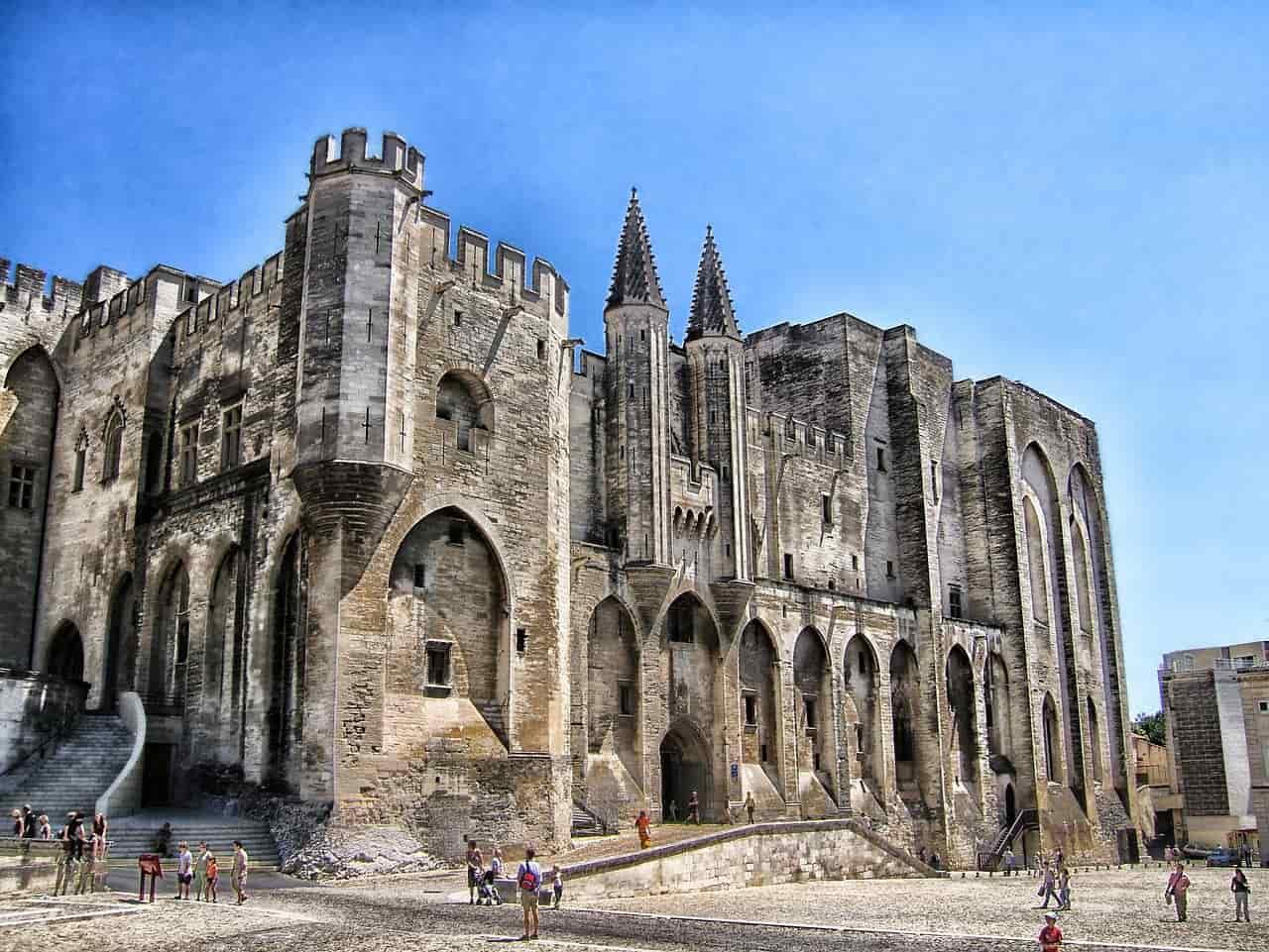 Provence Avignon Palais des Papes